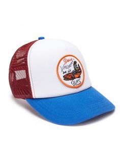 DEUS Pet Trucker Vaqueros - blue red Deus Ex Machina a4bb1411d0f1