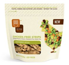 Southwest Style non-chicken strips from Beyond Meat ~ it makes great chicken salad!