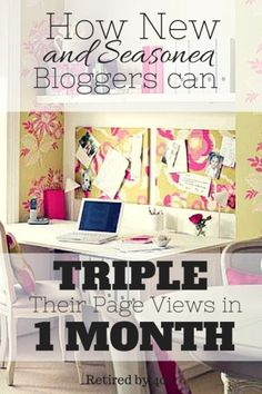 The black friday sale on the course that helped me to triple my pageviews is live! Hurry, because the course will never be this cheap again! Most of us know all too well how overwhelming it can feel to juggle the day-to-day demands of writing a blog with the big-picture strategy of creating a profitable business.  I know I've been there, trying to juggle social media, writing, graphics, and all those emails.    I