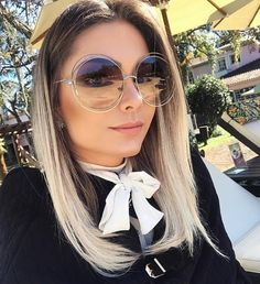 Women Sunglasses Circle Frame Glasses Circle Shades Round Glasses For – hhshoop Luxury Sunglasses, Sunglasses Women, Sunglasses Sale, New Teen Fashion, Women's Fashion, Fashion Trends, Sunnies, Marc Jacobs, Glasses For Your Face Shape