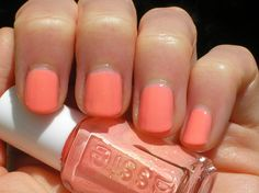 "Great summer color. Essie ""Haute as Hello"""