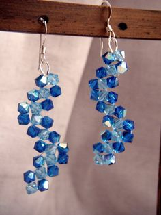 Latest earrings in my shop! oceanpearljewellery on Etsy