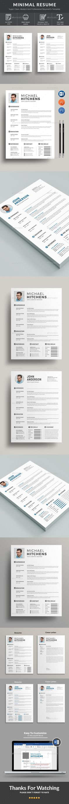 #Resume Templates is the super clean, The flexible page designs are easy to use and customize, modern and professional Resume templates to help you land that great job. Download here: https://graphicriver.net/item/resume/19698912?ref=classicdesignp