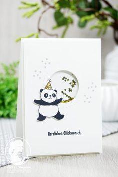 Jetzt wird es Bärenstark - Nellis Stempeleien Party Pandas aus der Sale-a-bration 2018 von Stampin' UP!