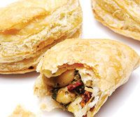 Make these crescents ahead of time and freeze them for party ease.