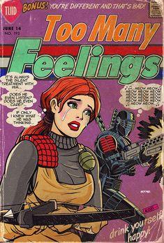 gameraboy:  G.I. JOE romance comics by m7781