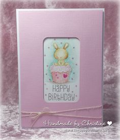 Handmade by Christine: Cute - at In The Pink
