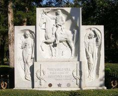 Sam Houston, first President of the Republic of Texas Oakwood Cemetery, Huntsville, Walker County, Texas. Republic Of Texas, The Republic, Huntsville Texas, Oakwood Cemetery, Moving To Texas, Sam Houston, Loving Texas, Lone Star State, Texas History