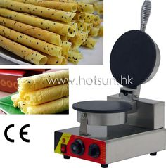 90.00$  Buy here - http://aliig4.worldwells.pw/go.php?t=32621607241 - Commercial Use Non-stick 110v 220v Electric Egg Roll Maker Machine Baker 90.00$