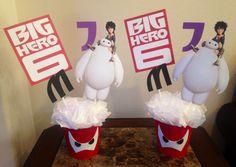 Big Hero 6 Centerpieces