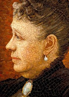 Although not architectural decorations, these mosaic portraits by Salviati - arguably the most famous ones made by the company - deserve a m...
