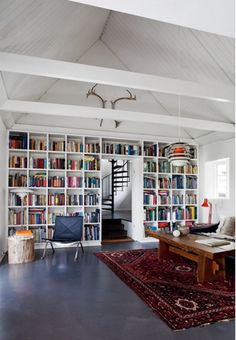 from convoy.tumblr.com, wall of books