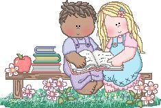 Niños y niñas, amistad.