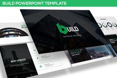 Build - Keynote Template by inspirasign on Envato Elements Powerpoint Format, Powerpoint Themes, Creative Powerpoint Templates, Powerpoint Presentation Templates, Keynote Template, Business Plan Presentation, Professional Presentation Templates, Presentation Design, Company Profile Template