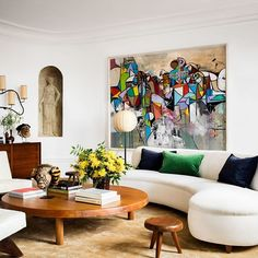 Fit for a fashionista. {Home of @bat_gio,  by @matthieusalvaing via @archdigest}