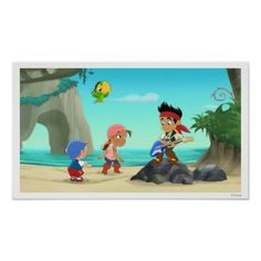 Jake and the Neverland Pirates Poster will look great in any room!