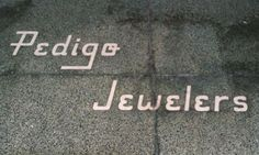 Pedigo Jewelers Ghost Sign in Indianapolis