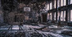 A világ érdekes infravörös Csernobil
