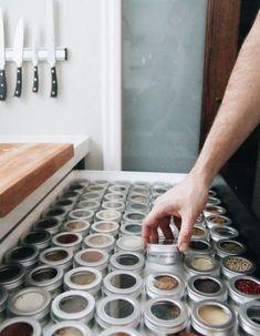 27 Trendy Kitchen Apartment Organization Ideas Spice Racks