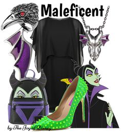 The Joy of Disney: {Sleeping Beauty}: Maleficent Disney Character Outfits, Disney Inspired Outfits, Disney Characters, Sleeping Beauty Maleficent, Disneybound, Princess Zelda, Joy, Stuff To Buy, Fashion