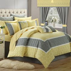 Chic Home Ariane 25-Piece Comforter Set King Comforter Sets 081fe5c7a1f