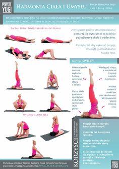 Pozycje jogi dzięki którym pokonasz stres i osiągniesz harmonię ciała i umysłu. Wykonuj zawsze gdy poczujesz potrzebę złapania równowagi!