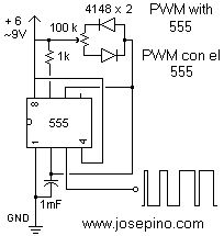 555 variable pulse generator Electronic in 2019