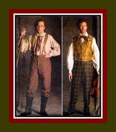 AUTHENTIC CIVIL WAR Era  Mens Victorian by FarfallaDesignStudio, $29.00