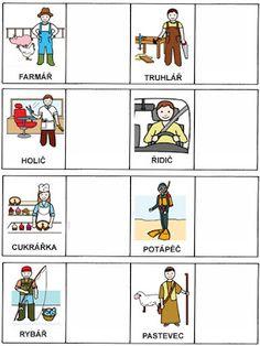 Pro Šíšu: Pracovní listy POZNÁNÍ Libra, Community Workers, Stipa, Speech Therapy, Homeschool, Language, Clip Art, Album, Learning