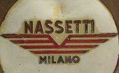 Nassetti battered engine badge