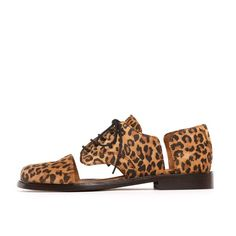minimarket cut out oxford, leopard. This is amazing!! I love oxfords sooo much!