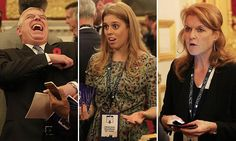 Fergie and Princess Beatrice show their support for Prince Andrew