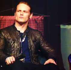 Sam Heughan at Ringcon 2015 original - I'm Here For Sookie!