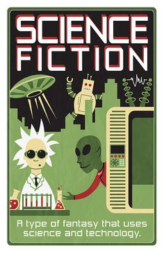 science fiction genre poster