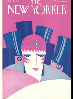 New Yorker Cover 1925-11-28