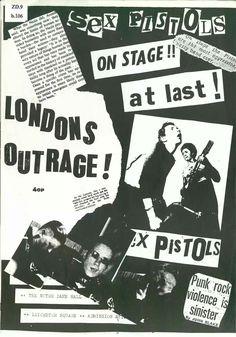 Punk Outrage fanzine