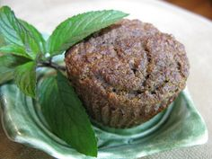 Pumpkin-Gingerbread Muffins. (My friend Dione posted this on Facebook and just had to share!