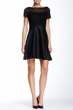 corsage de dentelle eva franco vnements minijupe casper lace bodice dress hautelook eva style me mini