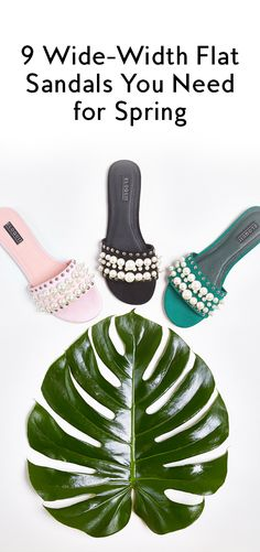 Step out in the best wide fit spring sandals