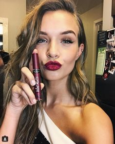 The newest VS Angel shares her favorite beauty tips for a night out.