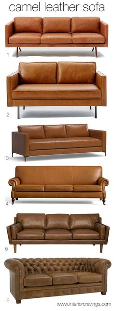 Camel leather sofas have been very present in my Pinterest feed and every time I see one I get this warm comfortable feeling inside without even starting to analyze if the space is too modern or to…