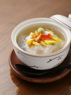 Kabura-mushi (steamed fish with grated turnip on top) かぶら蒸し