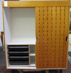 Lot:Charlotte Perriand Wardrobe Cabinet / Armoire, Lot Number:258, Starting…