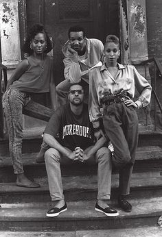 Credit: Chantal Regnault/Courtesy of Soul Jazz Books Members of The House of Saint Laurent (clockwise): Temperance, Terence, Octavia and Rob...