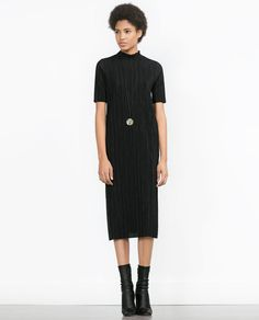 ZARA - WOMAN - PLEATED DRESS