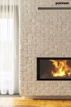 Painting a brick fireplace is an affordable way to easily update the look of your home, but how do you choose a paint color and product to get it done? We spoke with interior designers from our trade program who share all of the things you should consider when selecting the best paint for your fireplace.