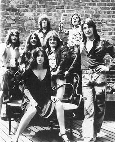 Grace Slick and the Jefferson Starship. From plane to starship!