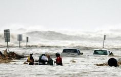 Hurricane Ike Galveston Texas.