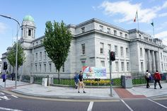 Cork City Hall, a limestone structure which replaced the old City Hall #Cork #Ireland