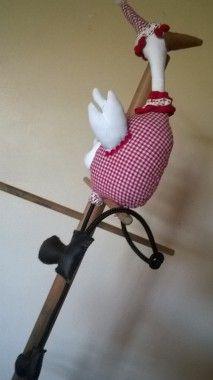 This Sweet Stork will add some handmade charm to your child's room. Child's Room, Stork, Handmade Toys, Your Child, Kids Room, Sweet, Room Kids, Nursery, Heron